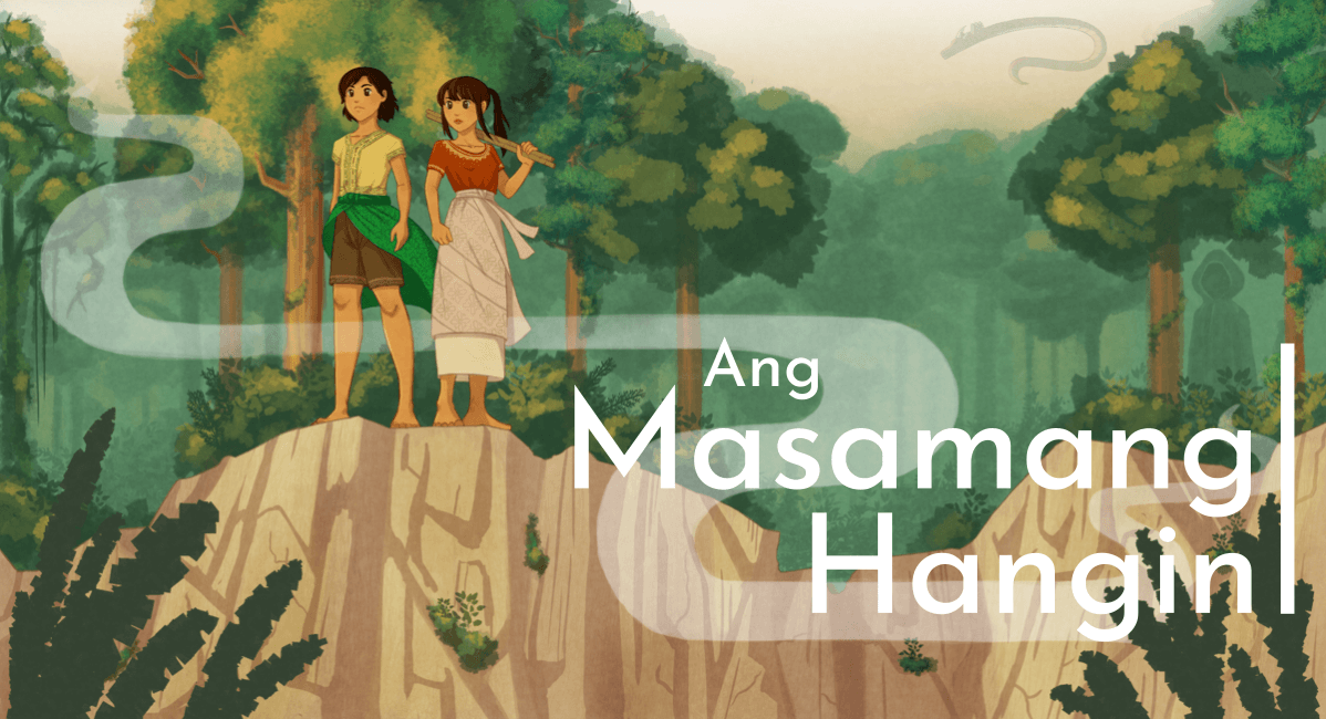 Fully rendered version with Ang Masamang Hangin in a sans-serif font.